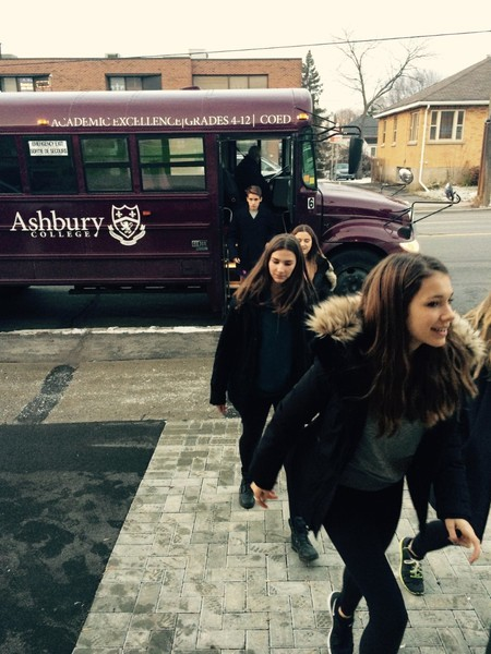 Ashbury Boys And Girls Club Volunteer Bus