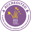 High Five Accredited Logo